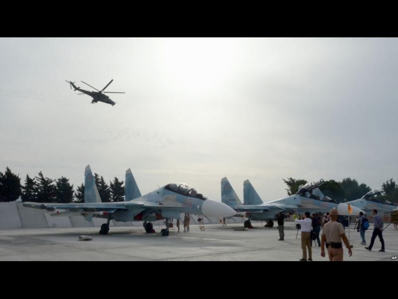 Бунтовници унищожили 7 руски самолета в Сирия