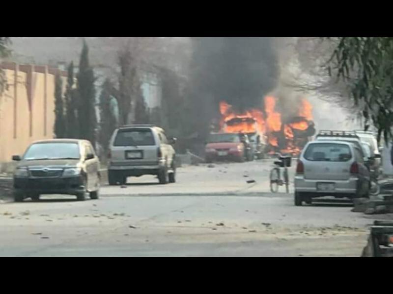 """Атакуваха офис на организацията """"Спасете децата"""" в Афганистан"""