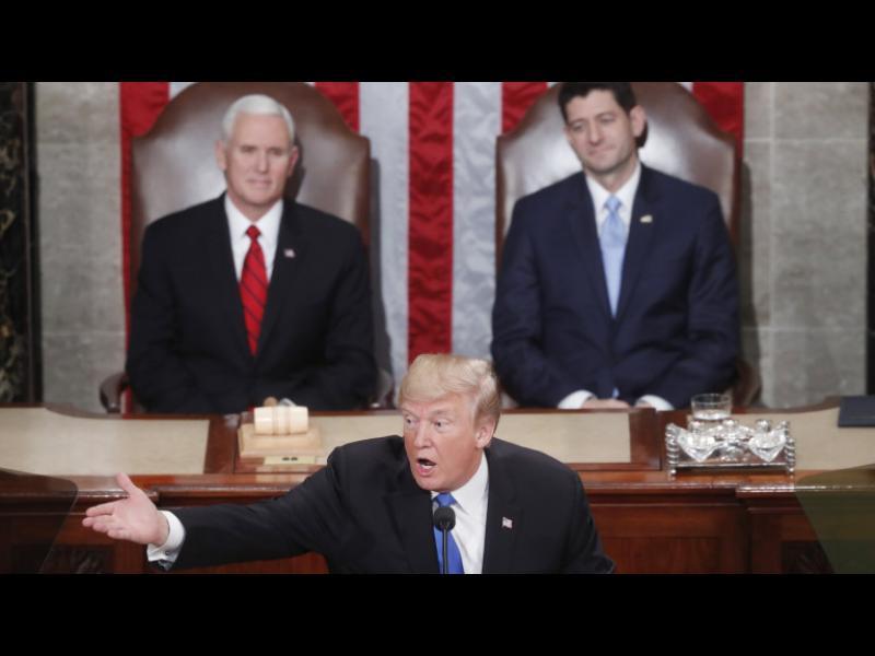 Тръмп призова американците да живеят като семейство