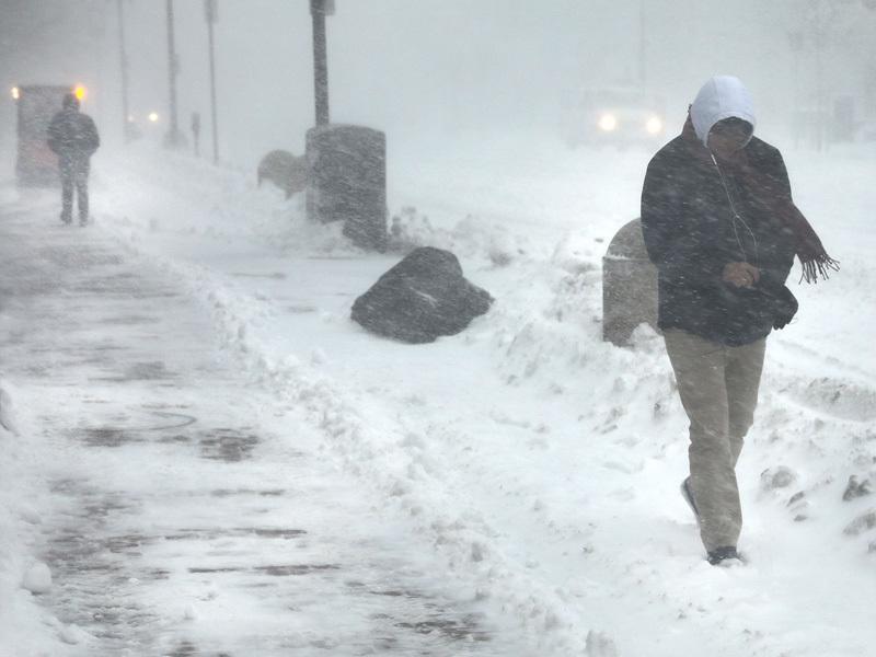 Безпрецедентен циклон връхлетя източното крайбрежие на САЩ