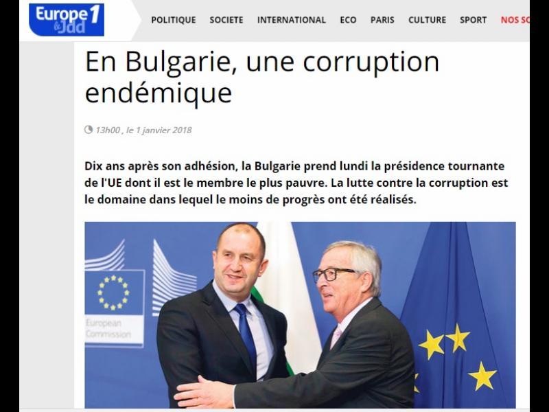 Журнал дьо Диманш: България е на мафията, една малка Русия