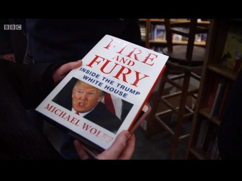 Опашките за книгата за Тръмп като тези за Хари Потър - картинка 1