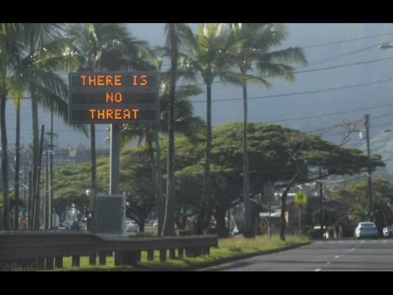 Фалшива тревога за балистична ракета причини паника на Хаваите