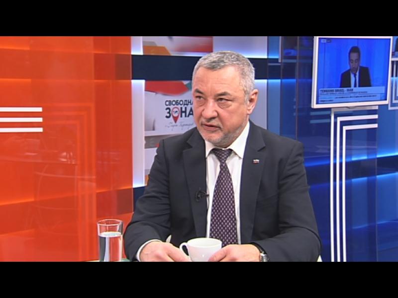Валери Симеонов: Възможно е да не се явим заедно с ВМРО на европейските избори