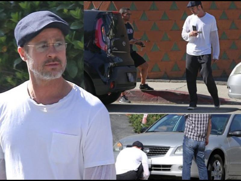 Брад Пит предизвика катастрофа в Лос Анджелис - картинка 1