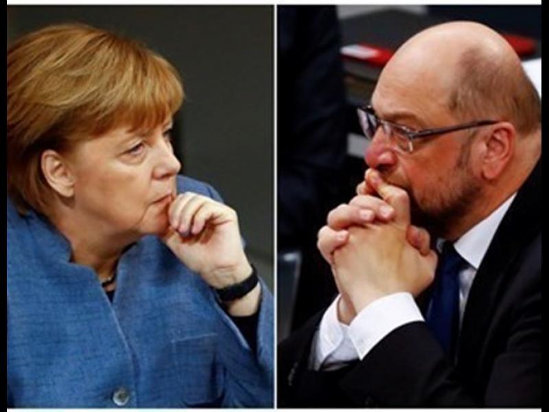 Меркел и Шулц се разбраха за коалиция в Германия