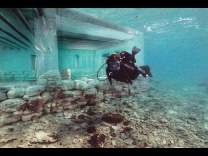 Къде се намира най-древният морски град?