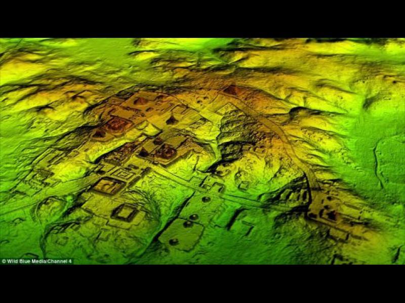 Откриха хиляди пирамиди, дворци и пътища на маите (видео)