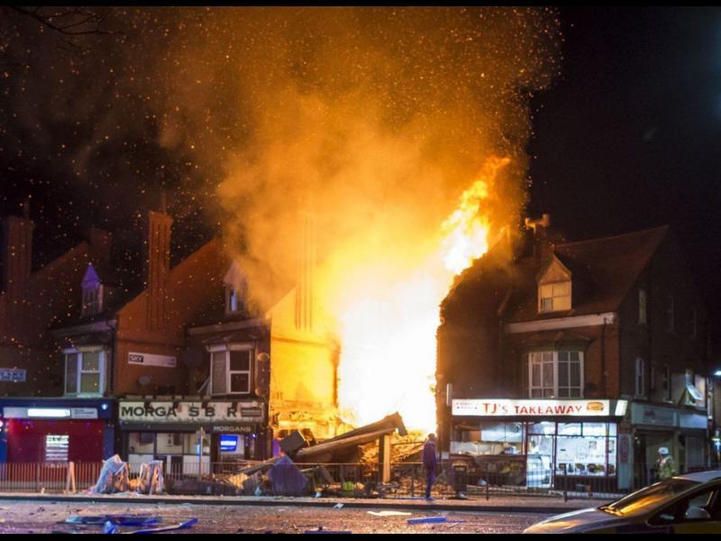 Четирима загинаха при взрив в Лестър (ВИДЕО)