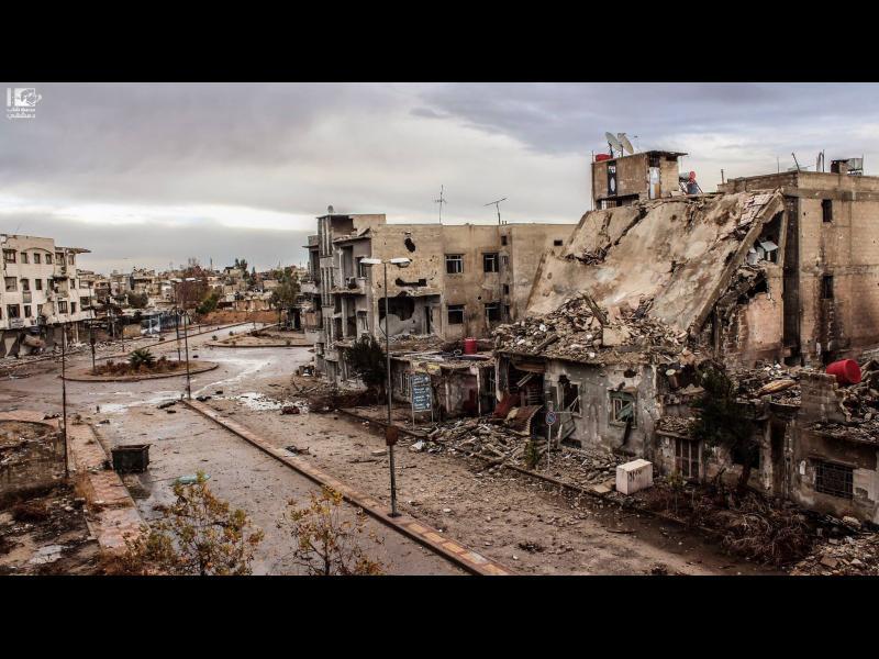 80 цивилни загинаха при удари на сирийския режим по Източна Гута