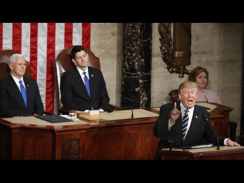 Тръмп: Разбойници, терористи, Китай и Русия са заплаха за САЩ (ВИДЕО)