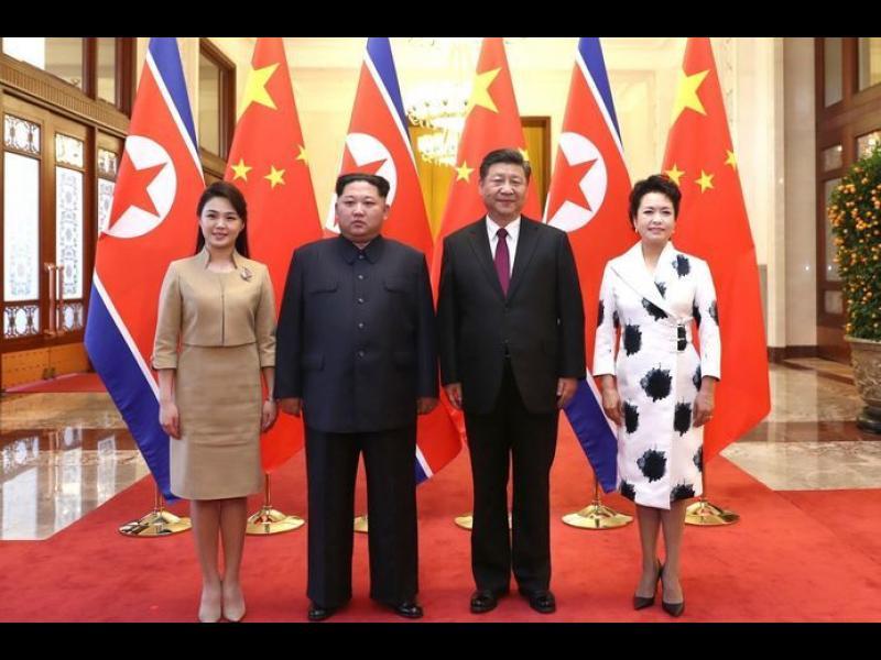 Визитата на Ким Чен-ун в Китай връща Пекин на дипломатическата сцена