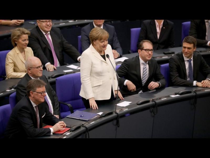 Ангела Меркел стана канцлер за четвърти мандат