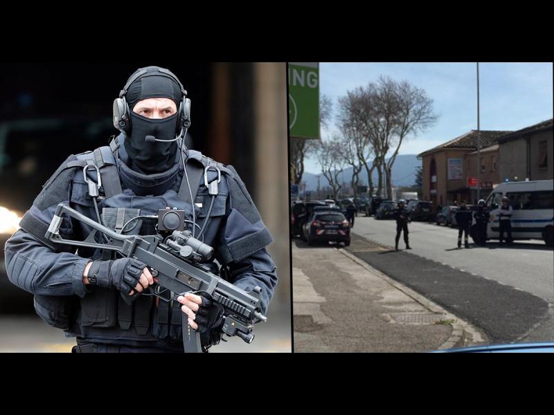Терористът във Франция е убит, сред похитените има жертви (обновена)