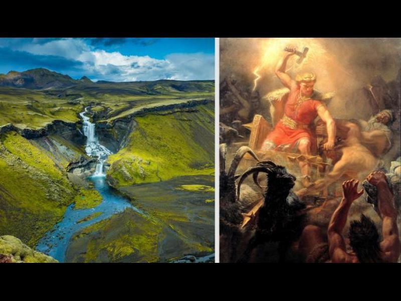 Изригването на вулкан е тласнало Исландия към християнството