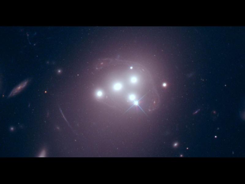 Тъмната материя не взаимодейства дори сама със себе