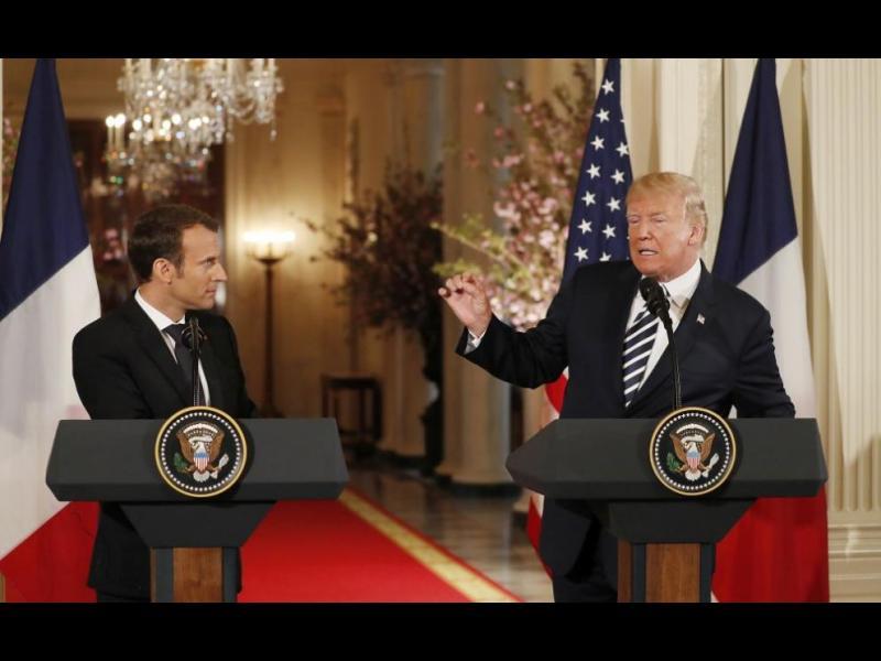 Президентите на САЩ и Франция призоваха за ново споразумение с Иран