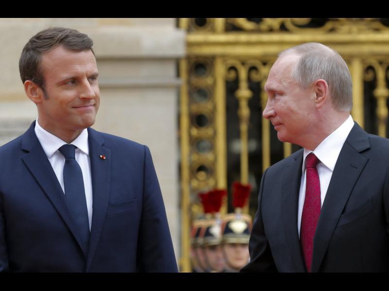 Макрон: Путин е съучастник в химическата атака в Сирия - картинка 1