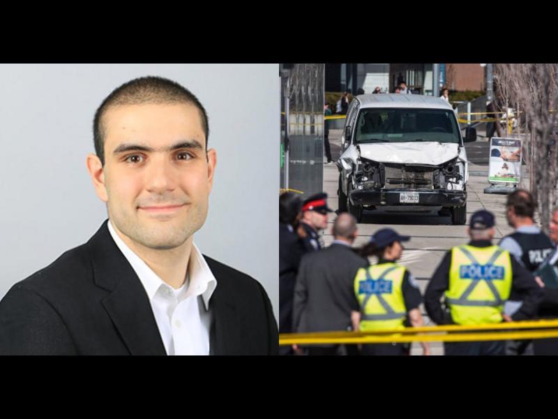 Нападателят от Торонто получи обвинение за извършване на 10 предумишлени убийства
