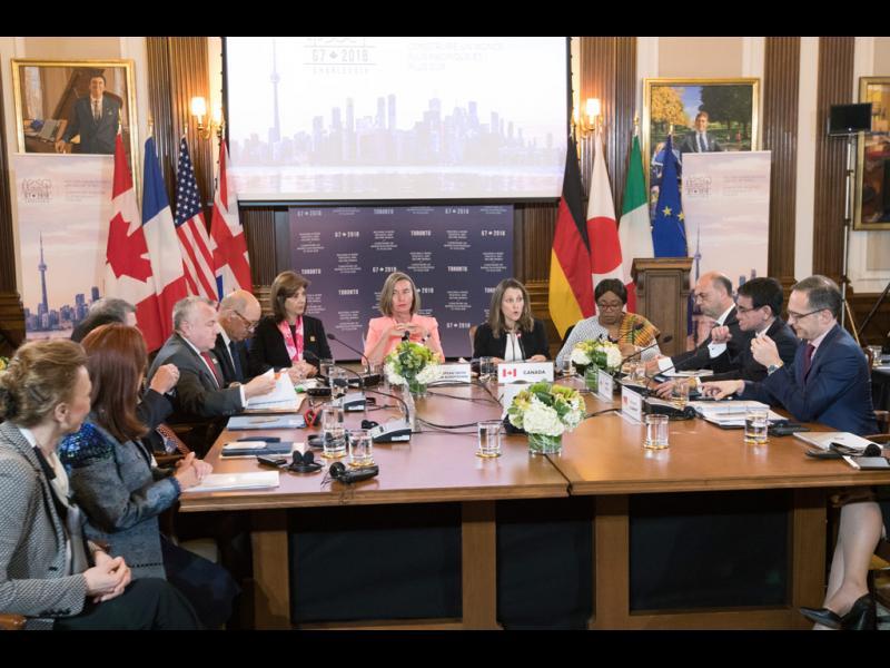G-7: Поведението на Русия е зловредно