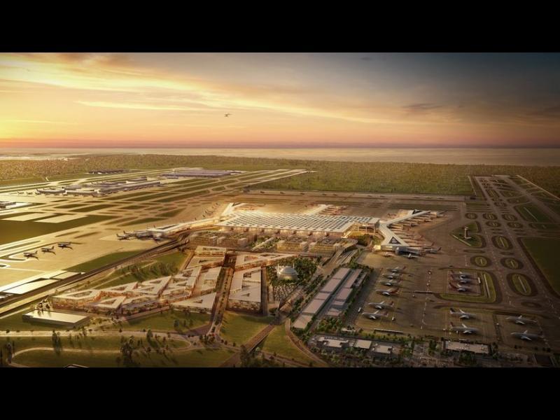 Турция започва строежа на мегалетище до Истанбул