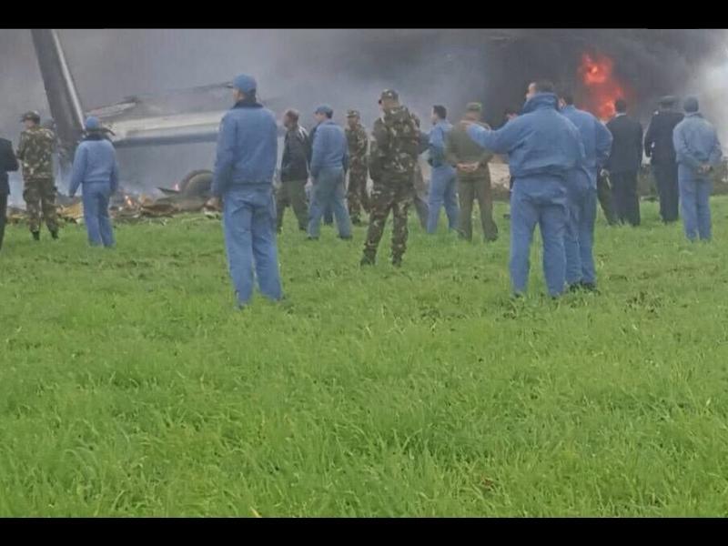 Над 100 загинали при самолетна катастрофа в Алжир (ВИДЕО)