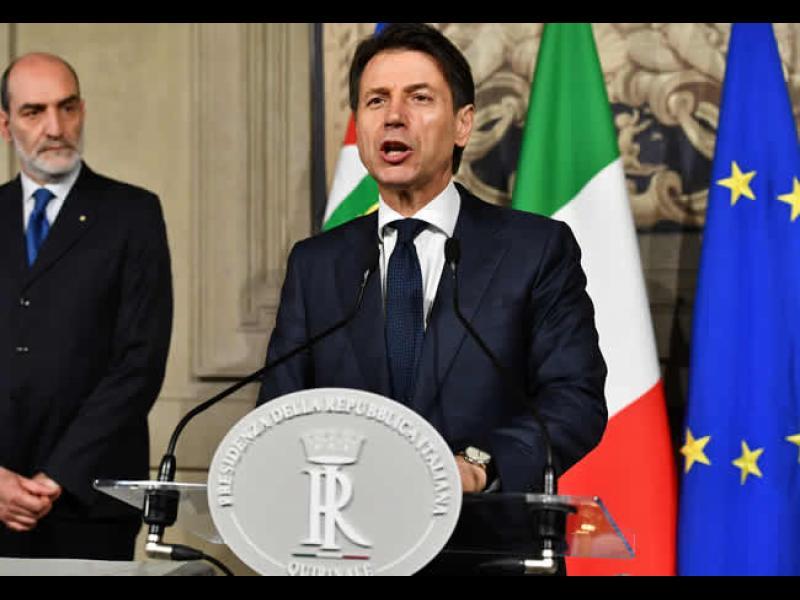 Политическа криза в Италия: Президентът наложи вето на предложения кабинет