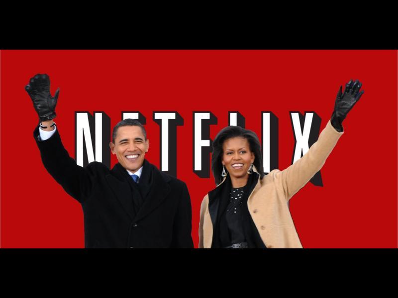 Мишел и Барак Обама започнаха работа в Netflix
