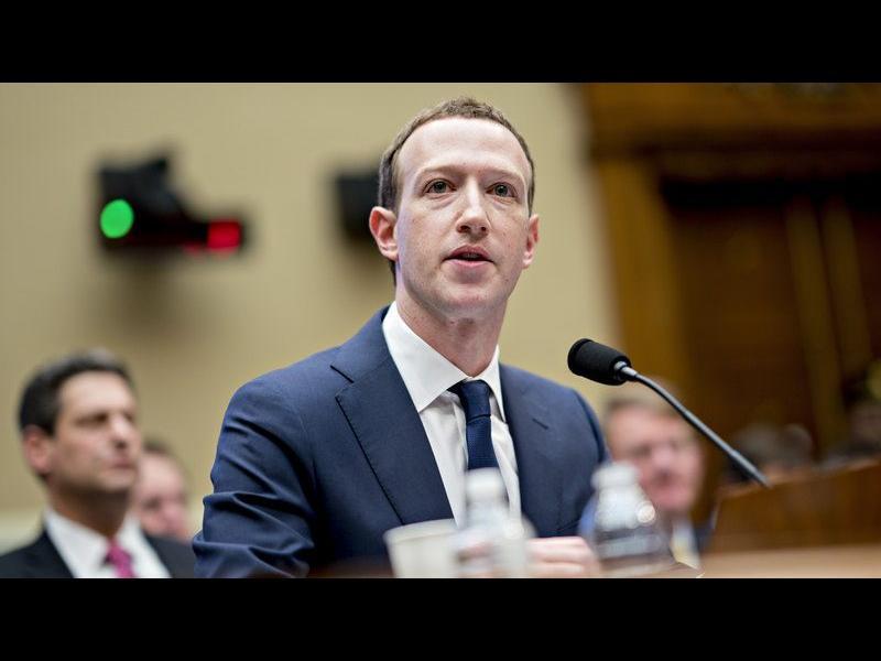 Изслушването на Марк Зукърбърг пред ЕП ще се предава пряко