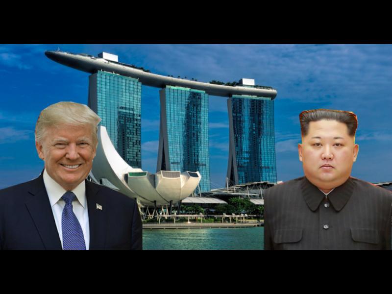 30 автомобила пазят Тръмп в Сингапур, Ким Чен-ун идва със сестра си