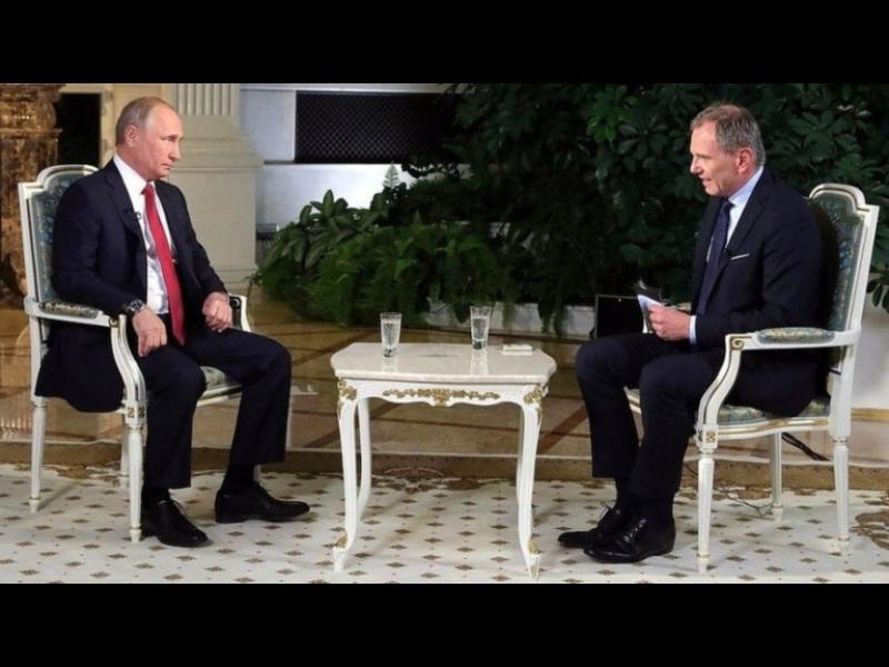 Австрийски журналист вбеси Путин – уличи го в лъжа