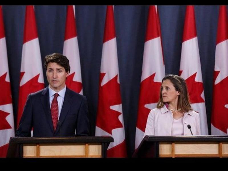Канада и САЩ в търговска война: Трюдо отвръща на Тръмп с наказателни мита