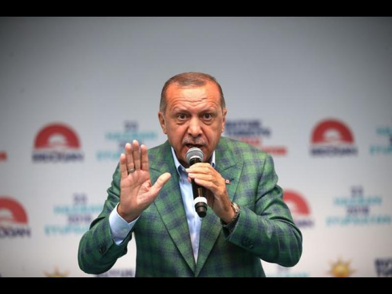 Ердоган печели още на първи тур с 52,6 % (ВИДЕО)