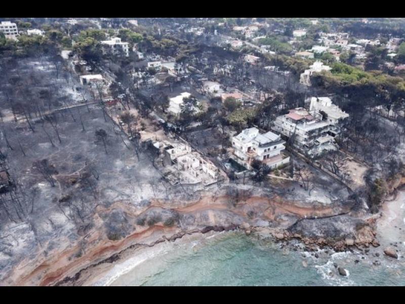 Пожарите в Гърция са най-смъртоносните в Европа от 118 години насам