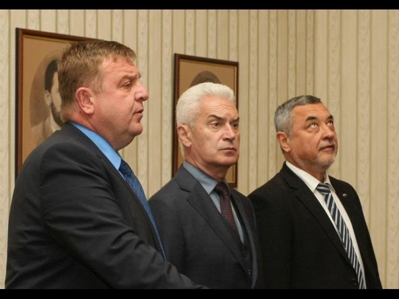 Сидеров питал Симеонов заедно ли ще се явяват на евроизборите. Отговорът: Не, не и не