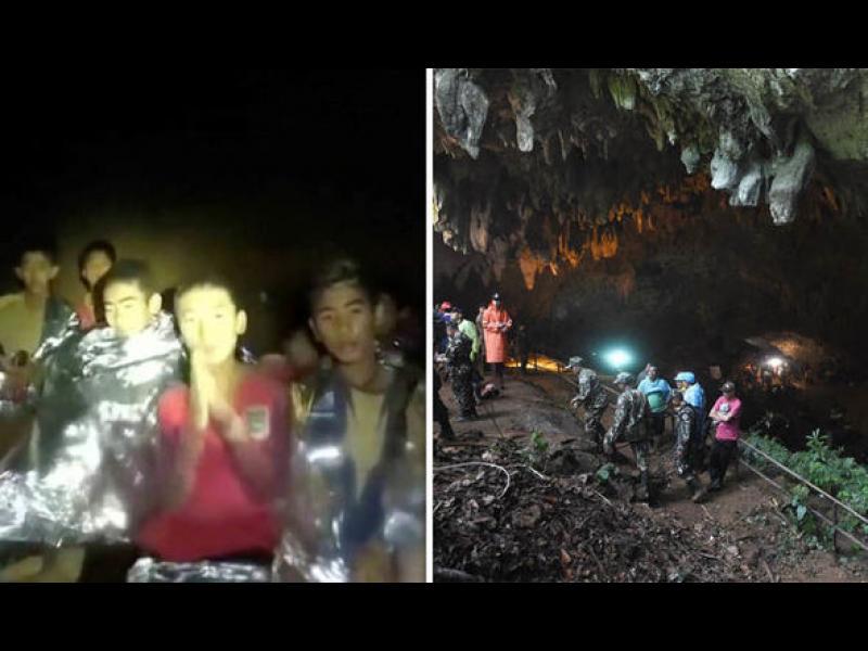 Всички момчета от пещерата в Тайланд  са спасени!