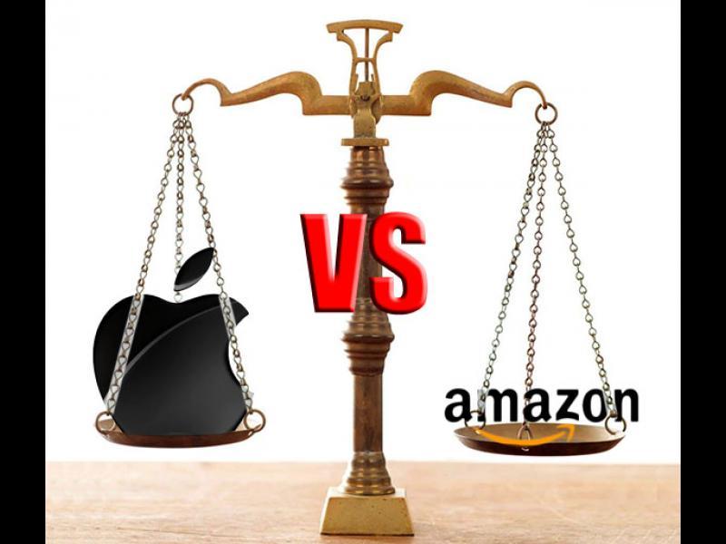 Кой пръв ще стигне трилион - Apple или Amazon?