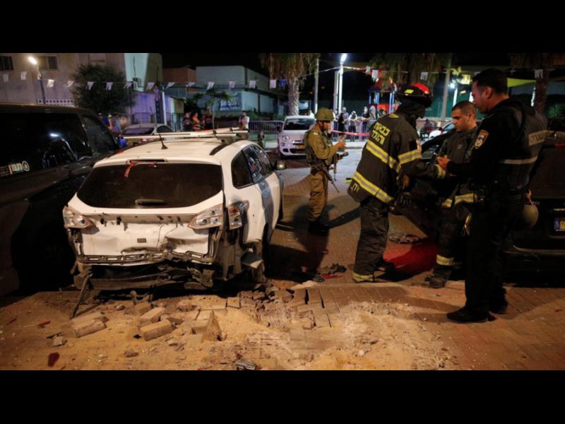 """Терористите от """"Хамас"""" изстреляха 150 ракети по Израел - картинка 1"""
