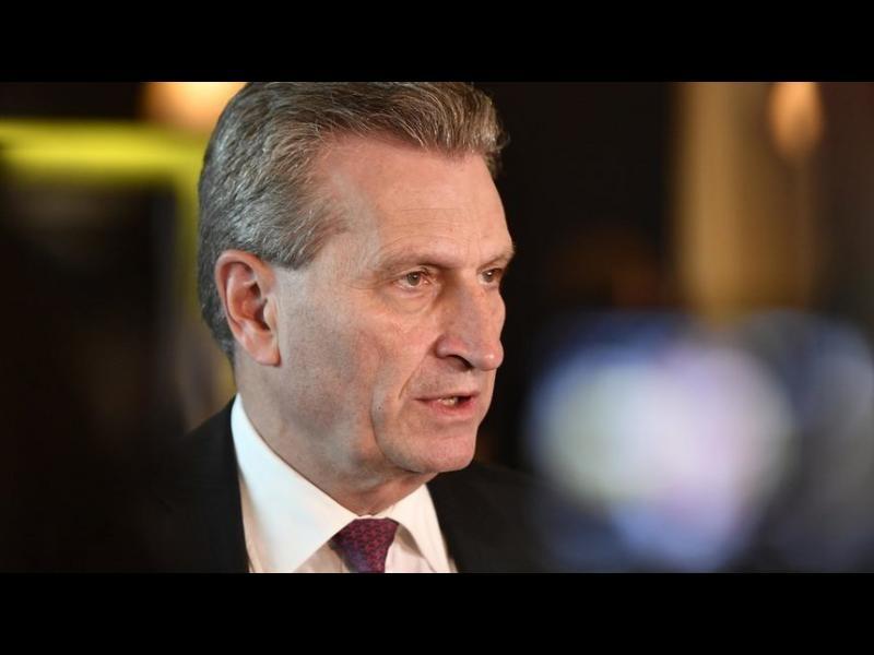 """Йотингер: ЕС е в """"смъртна опасност"""""""