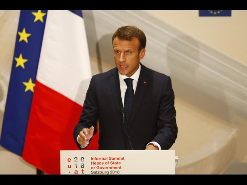 """Макрон: Който не иска """"Фронтекс"""", излиза от Шенген"""