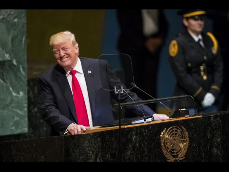 Тръмп забрави Русия в речта си пред ООН