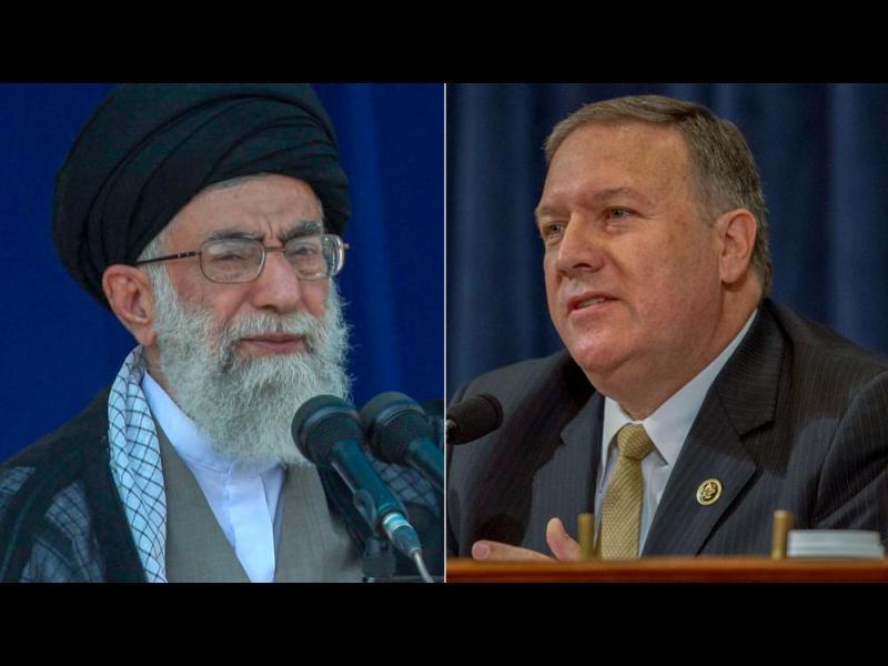 Помпео: Сирия няма да получи и долар от нас, ако Иран остане там - картинка 1