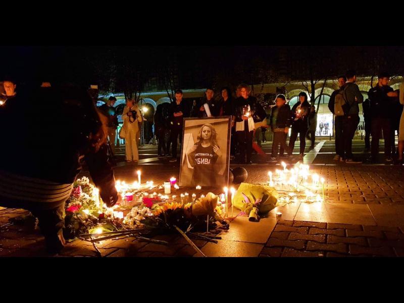 Бдение за Виктория в София: Това мина всякакви граници, повече не се търпи