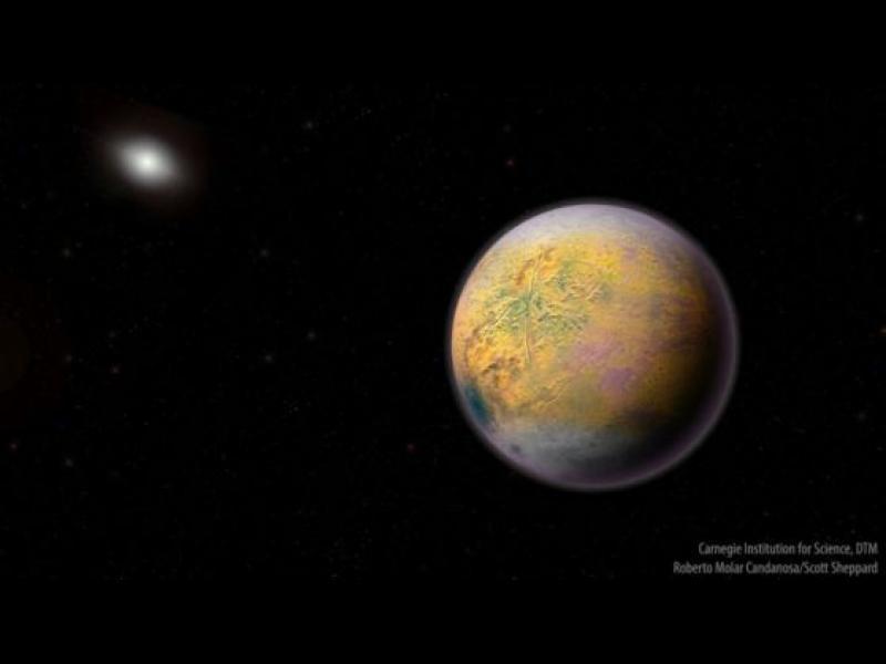 Открит е нов обект след Плутон - картинка 1