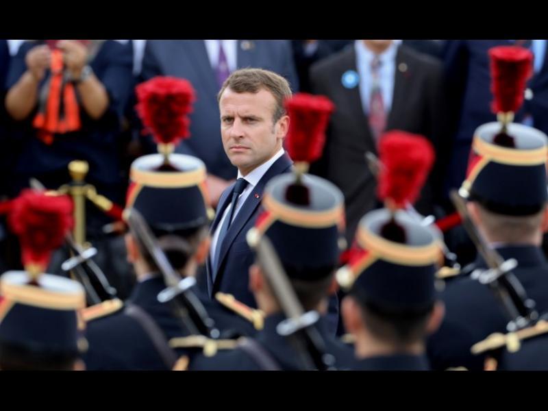 Макрон: Нужна е европейска армия, която да ни защити от Русия