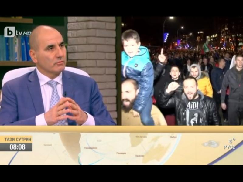 Цветан Цветанов: Зад призивите за оставка стоят БСП и президента Румен Радев