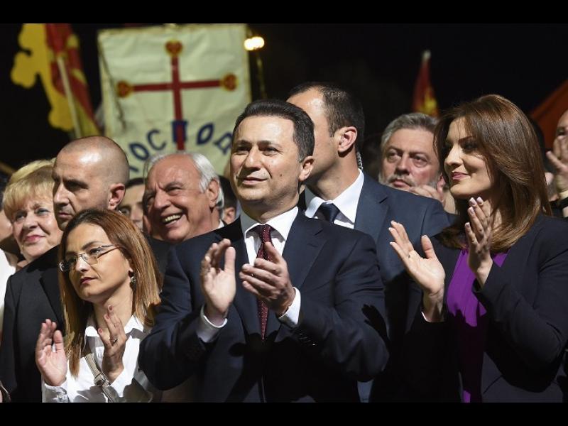 Груевски се укривал във вила на Орбан