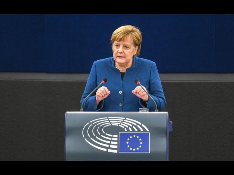 Меркел подкрепи създаването на обща европейска армия