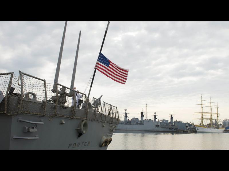 САЩ ще изпратят боен кораб в Черно море заради Русия и Украйна - картинка 1
