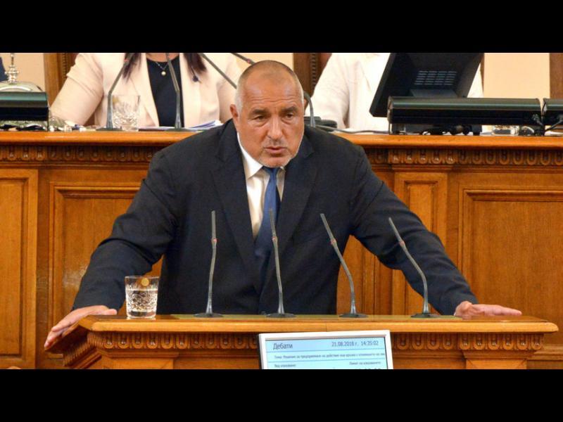 """Борисов обеща на БСП да приложи мерките за чист въздух на кабинета """"Орешарски"""""""